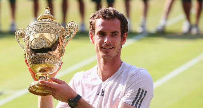 Andy Murray: Wimbledon champion chasing more glory