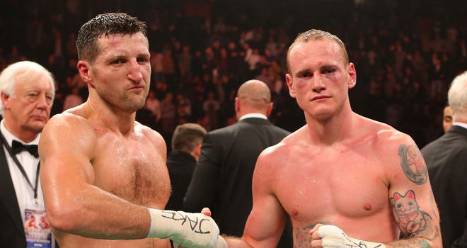 George Groves: Angered by his 'unjust' loss to Carl Froch