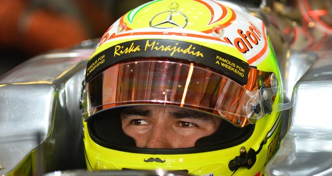 Sergio Perez: McLaren future under intense scrutiny