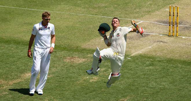 David Warner: Australia opener had plenty to say after day three century