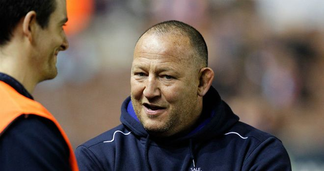 Steve Diamond: Hoping his side can build on their win at Harlequins