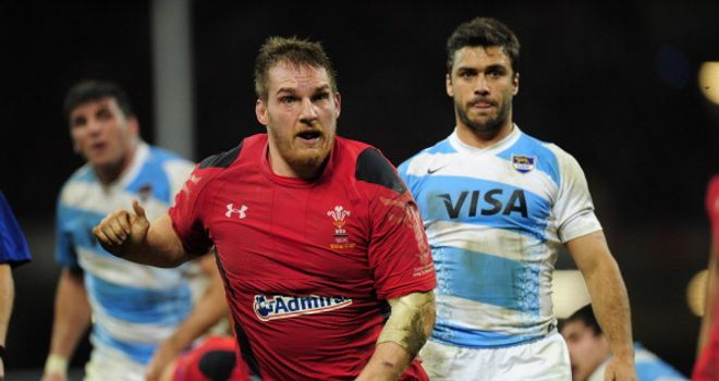 Gethin Jenkins: Tasted victory over Australia in 2008