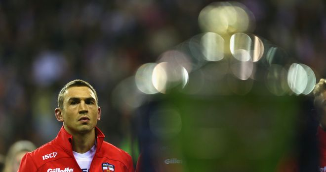 Kevin Sinfield was one of a number of England heroes that lost 20-18 in the World Cup semi-final to New Zealand