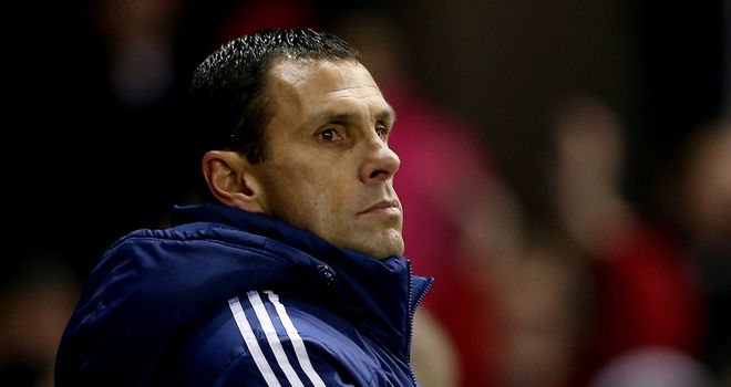Gus Poyet: Preparing to come up against his old club