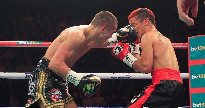 Scott Quigg (L): Retained his WBA super-bantamweight title in spectacular style