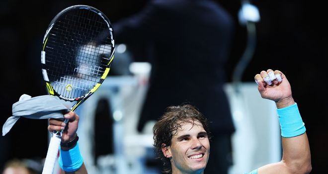 Nadal: back to winning ways against Ferrer