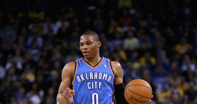 Russell Westbrook: Scored the winning basket with 0.1 seconds left