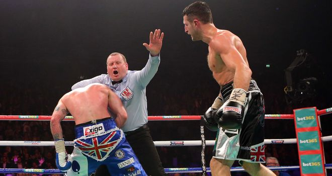 Groves is stopped prematurely - not the first to suffer that fate