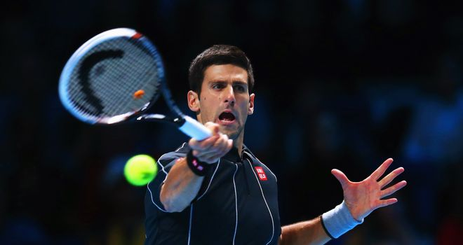 Novak Djokovic: Serb won four straight titles to finish 2013 season