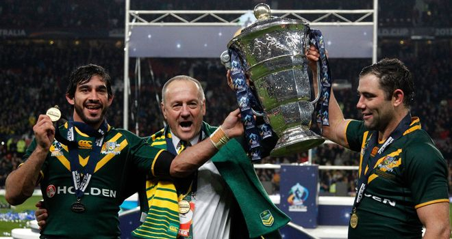 Tim Sheens: Guided the Kangaroos to World Cup success in England