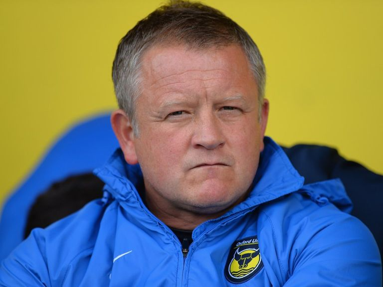 Chris Wilder: Leaving Oxford and set to join Northampton