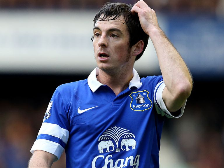 Leighton Baines: Missed FA Cup win due to back spasm