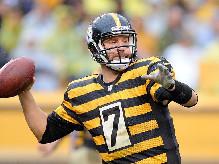 Ben Roethlisberger helped the Pittsburgh Steelers claim victory
