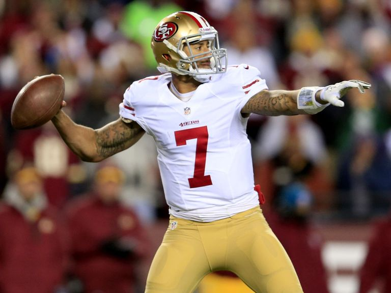 Colin Kaepernick leads the 49ers into battle at Seattle