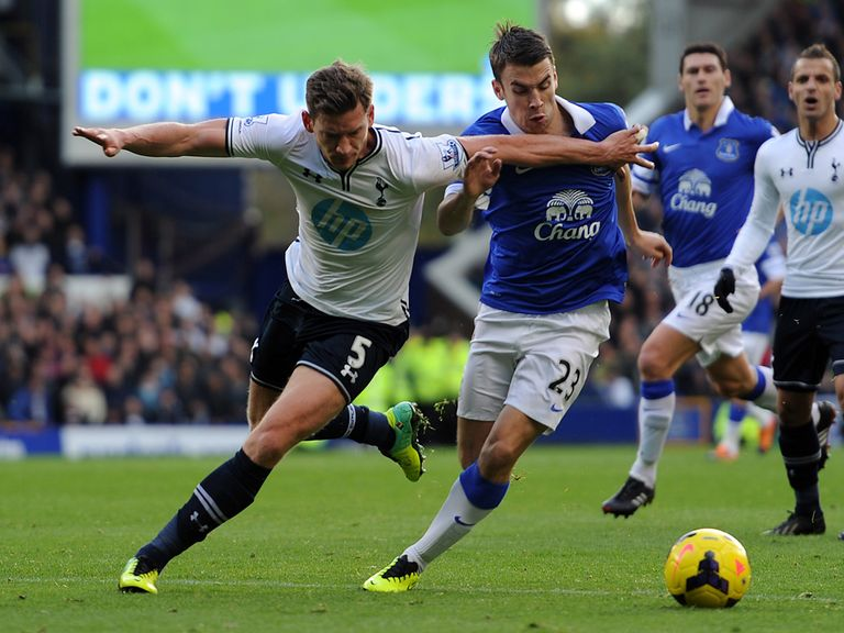 Everton and Tottenham drew 0-0 on Sunday