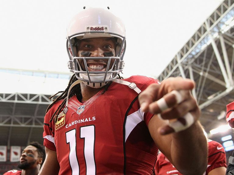 Larry Fitzgerald: Should make plenty of gains for the Cardinals