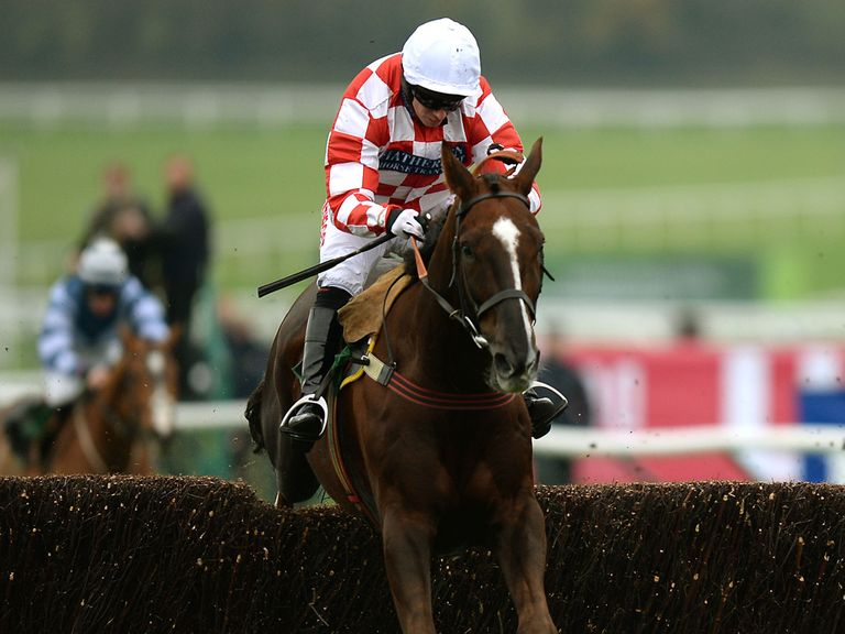 Le Bec on his way to victory at Cheltenham