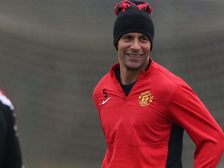Ferdinand: Injured in the FA Cup game with Swansea