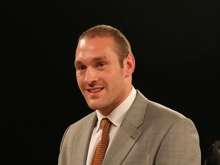 Tyson Fury: Set for Dereck Chisora showdown