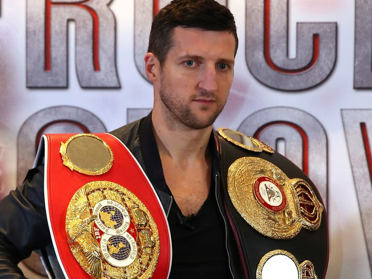 Carl Froch: Plans to 'annihilate' George Groves