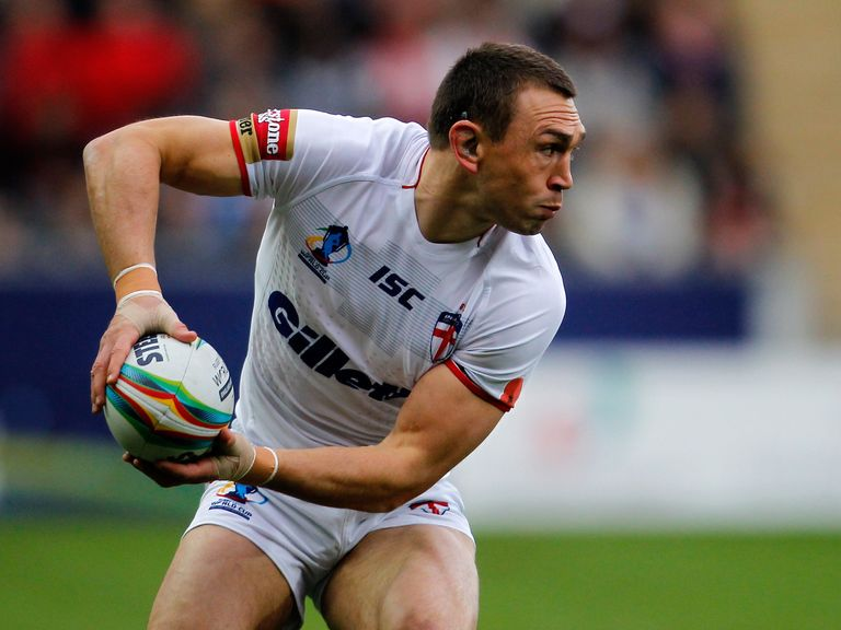 Kevin Sinfield: Leeds star brings end to England career