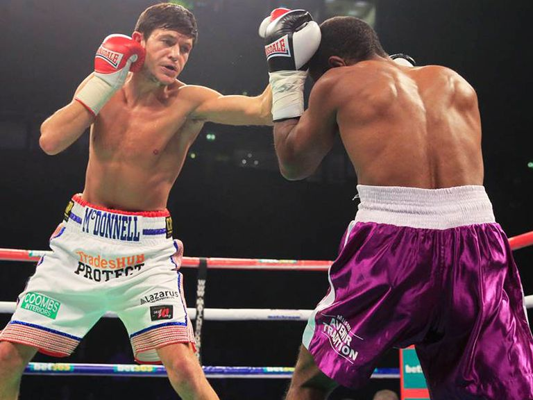 Jamie McDonnell: Has a chance to become a world champion