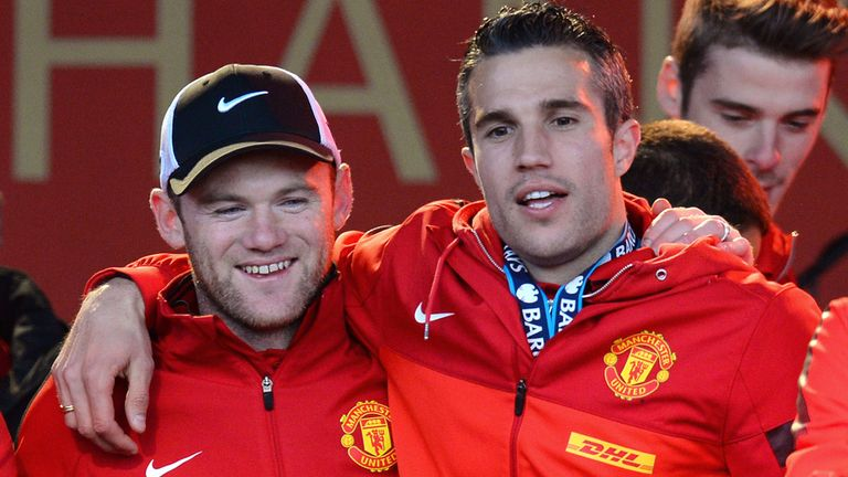 Robin van Persie: Believes partnership with Wayne Rooney can improve