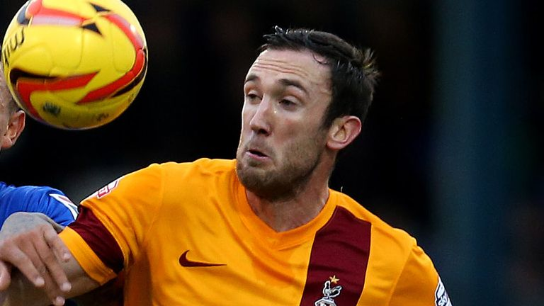 Rory McArdle: Excited by Bantams future