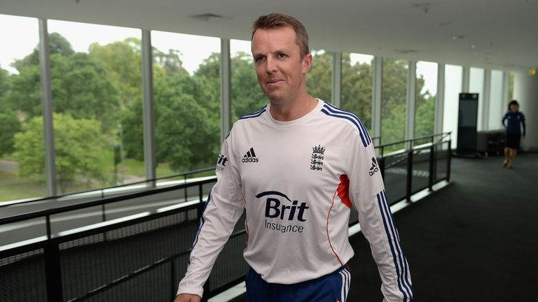 Graeme Swann: Tipped to be a media star by former boss Newell