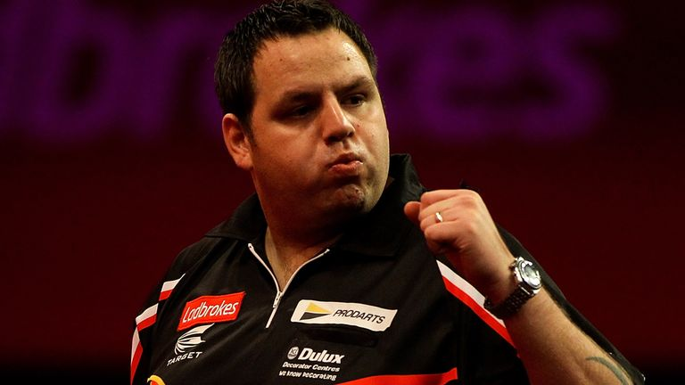 Adrian Lewis: Has far too much for Raymond van Barneveld in big-name clash