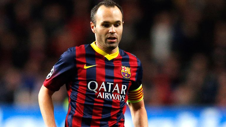 Andres Iniesta: Barca are confident of El Clasico win