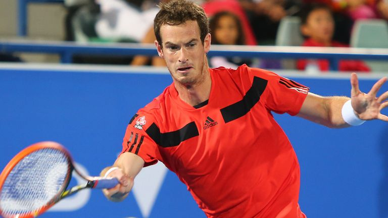 Andy Murray: Scot happy with his movement on return