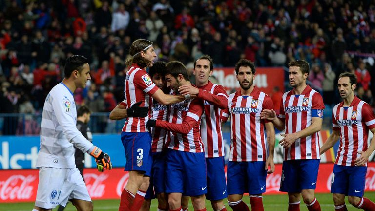 Atletico Madrid: Hoping to bounce back from defeat in the cup