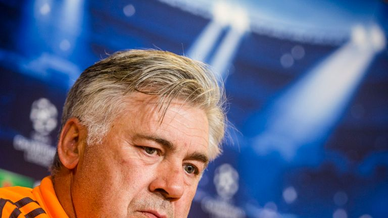 Carlo Ancelotti: Set his sights on winning the Champions League
