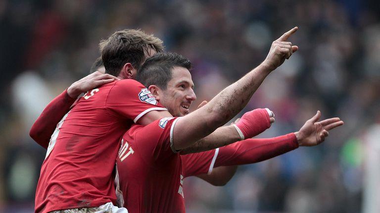 Yann Kermorgant: At the double for Charlton
