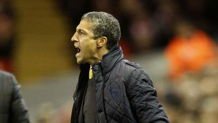 Chris Hughton: Norwich boss saw his side beaten at Fulham