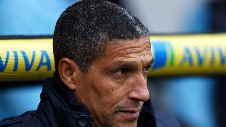 Chris Hughton: Happiness tinged with disappointment after draw