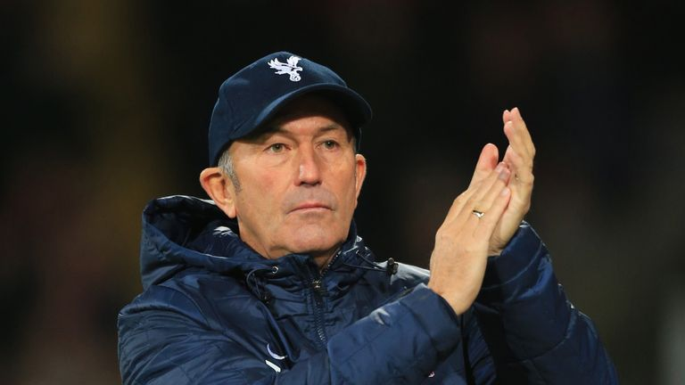 Pulis: his arrival at Palace is an example of the instant impact a new boss can have