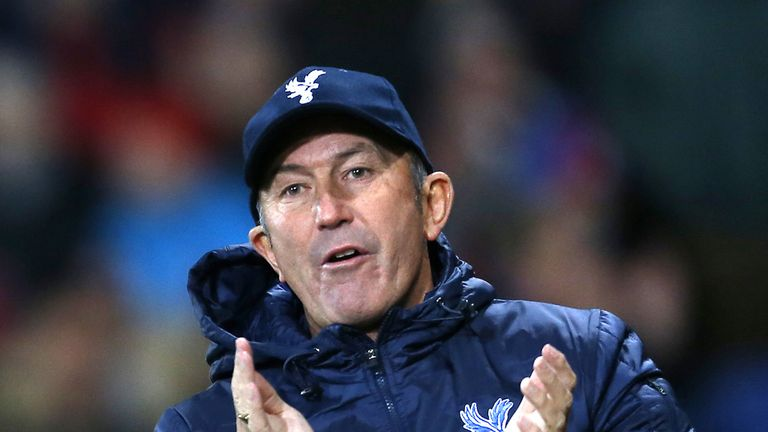 Tony Pulis: Looking to steer Crystal Palace to Premier League safety