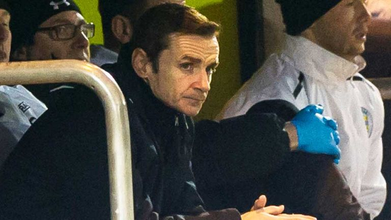 Danny Lennon: St Mirren boss feels his side chucked two points away against Hearts