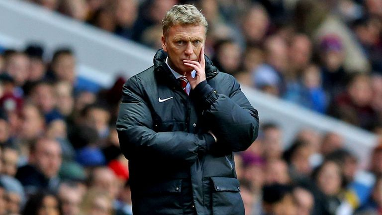 David Moyes: Likely to make changes at Stoke