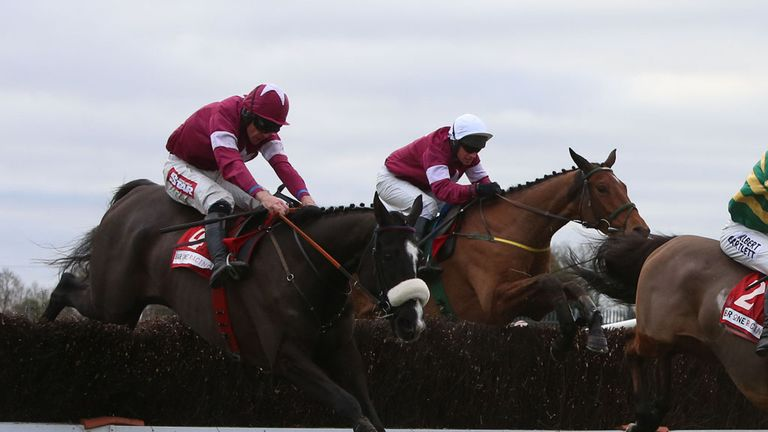 Don Cossack: Heads the Irish National weights