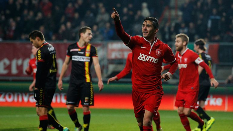 Felipe Gutierrez: Opened the scoring for Twente