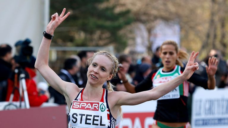 Gemma Steel: happy with a silver