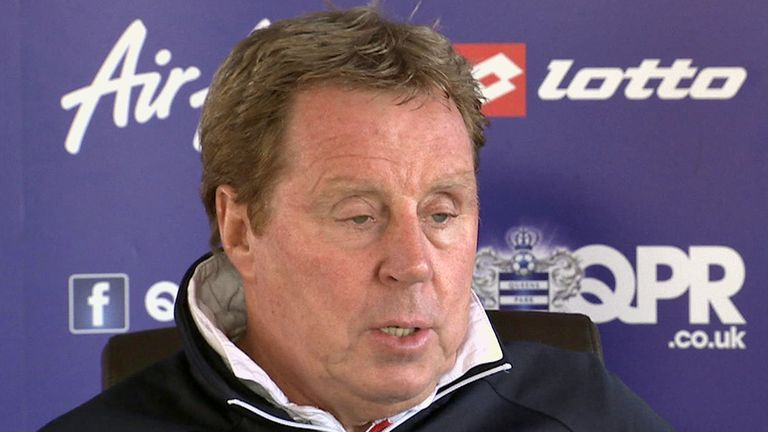 Harry Redknapp: QPR boss expecting a close finish in the Championship