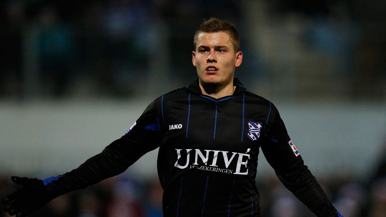 Alfred Finnbogason: Scored a penalty for Heerenveen