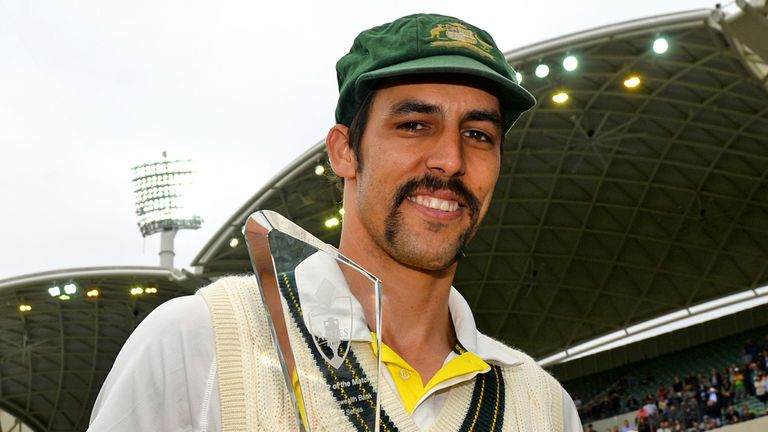 Mitchell Johnson: A 7/1 shot to win the man-of-the-match award at the WACA