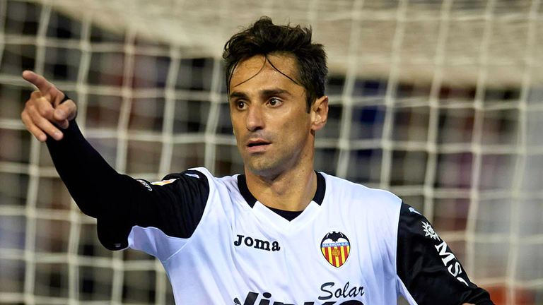 Jonas: Valencia forward attracting interest from West Brom
