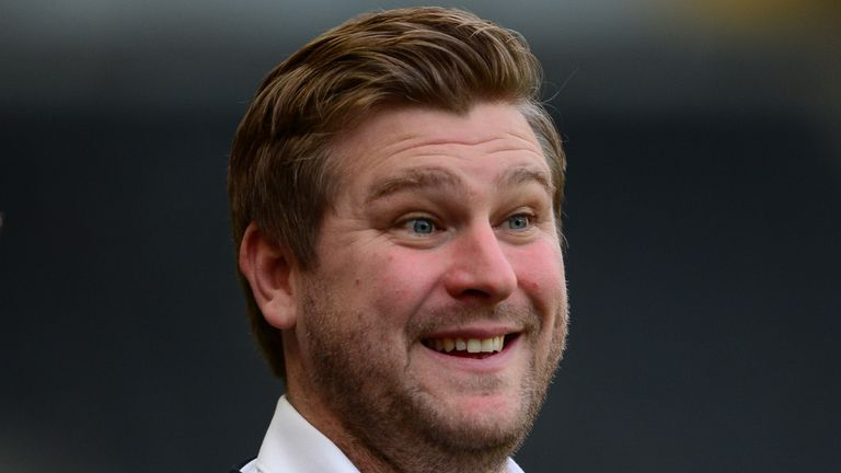 Karl Robinson: Looking forward to 'dream tie'