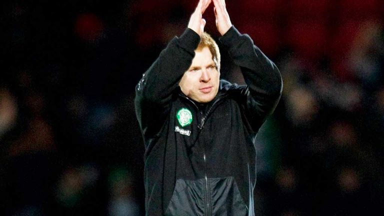 Neil Lennon: Celtic boss praised defender Virgil van Dijk after the win over St Johnstone